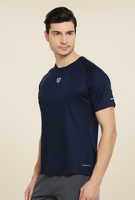Armr Navy Sport Crew Neck T Shirt