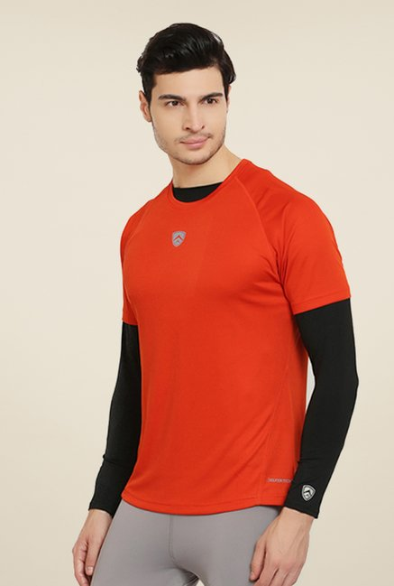 Armr Rust Sport Crew Neck T Shirt