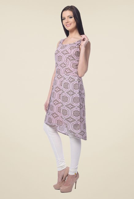 Forever Fashion Pink Printed Tunic