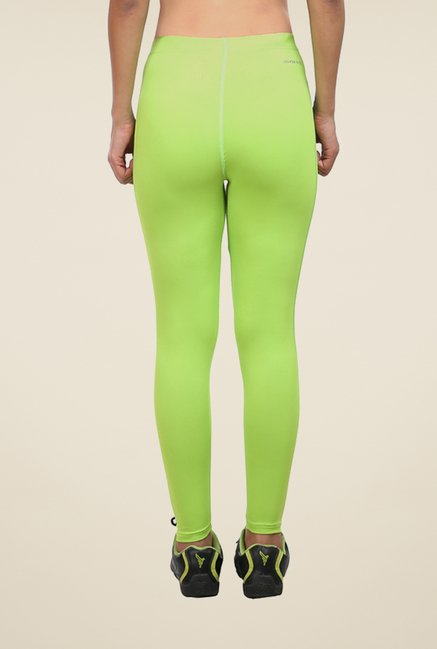 Armr Neon Green Skyn Full Length Tights
