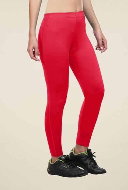 Armr Red Skyn Full Length Tights