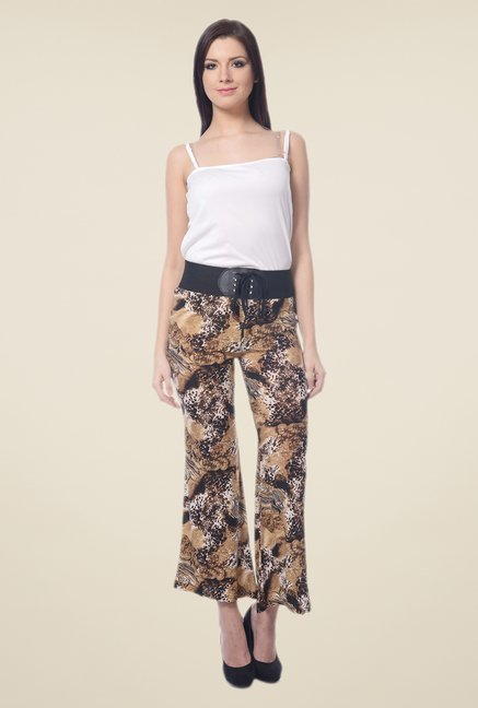Forever Fashion Multicolor Printed Trousers