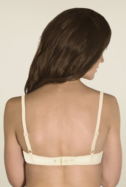Amante Cream & Mint Padded Balconette Bra