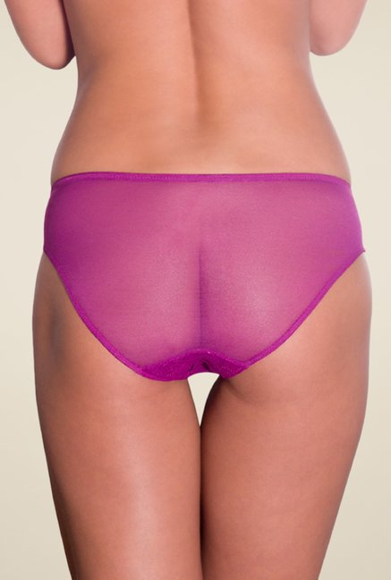 Amante Purple Lace Panty