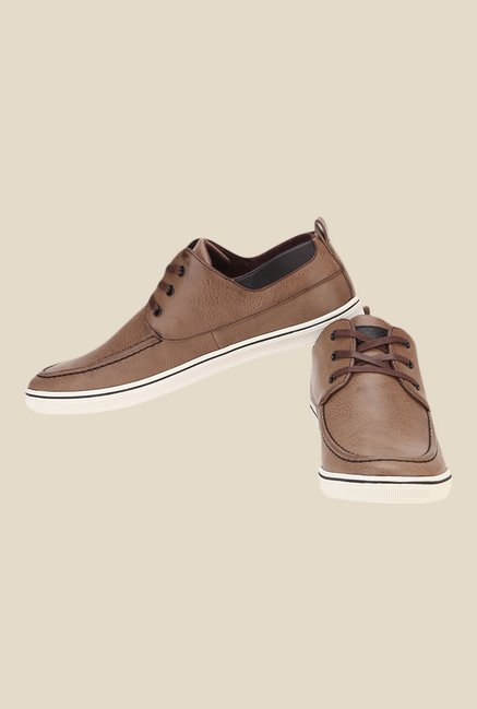 Spunk Brio Brown Casual Shoes