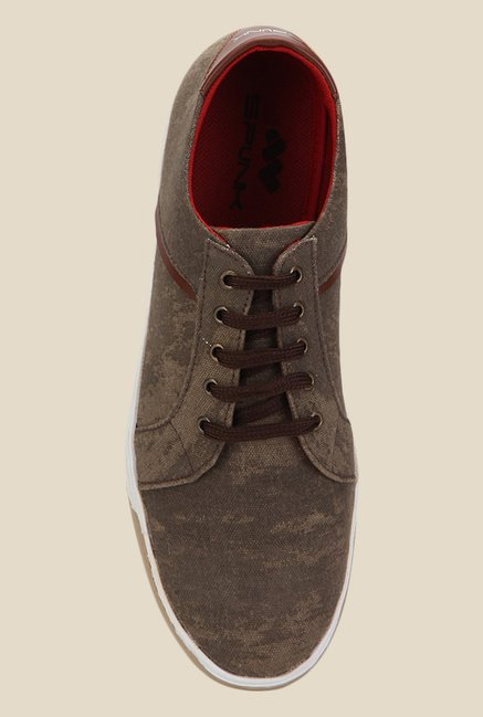 Spunk Bosko Brown Sneakers