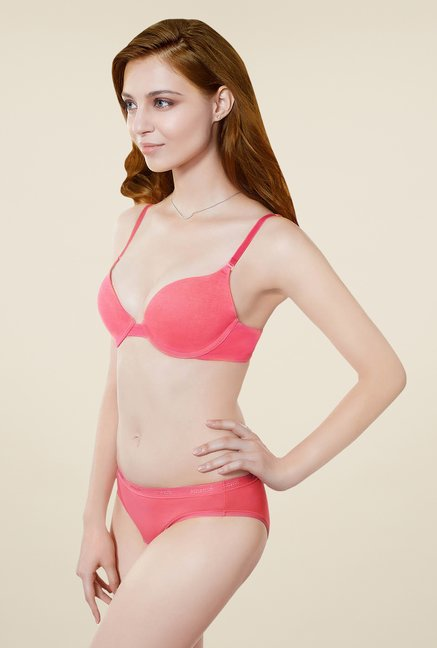 Amante Coral Pushup Padded Bra