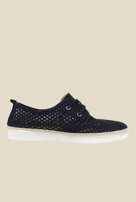 Spunk Milano Black Casual Shoes