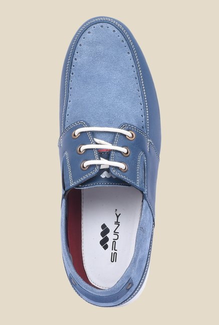 Spunk Vector Blue Casual Shoes