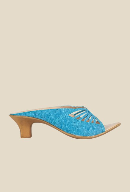 Khadim's Blue Casual Sandals