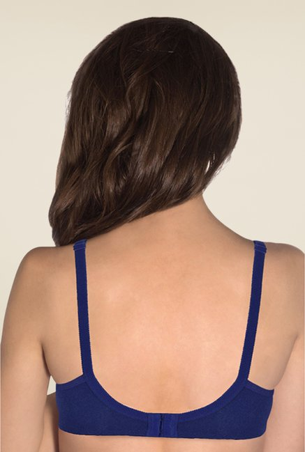 Amante Blue Non Padded Seamless Bra