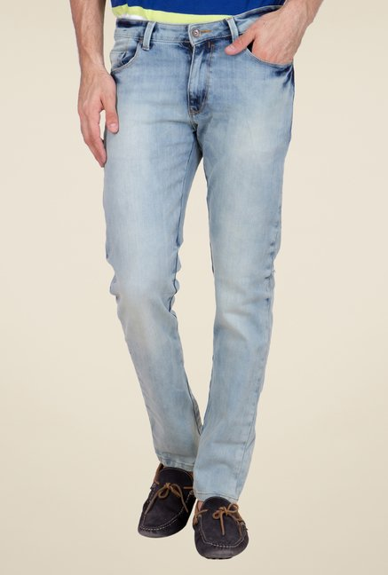 United Colors of Benetton Light Blue Skinny Fit Jeans