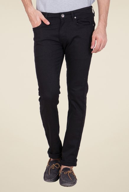 United Colors of Benetton Black Raw Denim Jeans