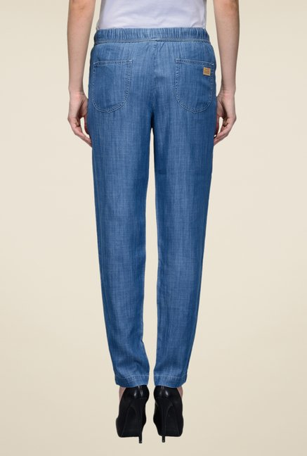 United Colors of Benetton Blue Raw Denim Jeans