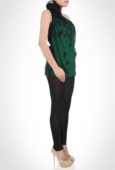 Gaurav Gupta Designer Wear Green Top by Kimaya