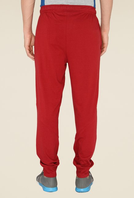 Chromozome Red Solid Trackpants