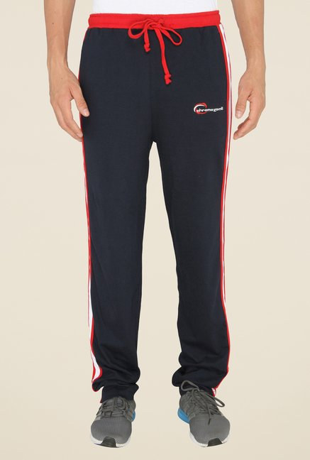 Chromozome Navy Casual Trackpants
