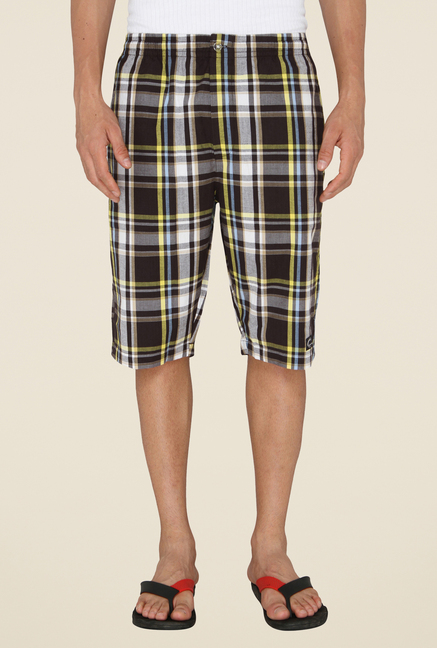Chromozome Multicolor Checks Shorts