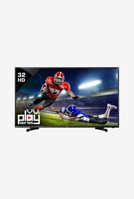 Vu Play 32K160M/T32D66 80cm  32 inches  HD Ready LED TV  Black
