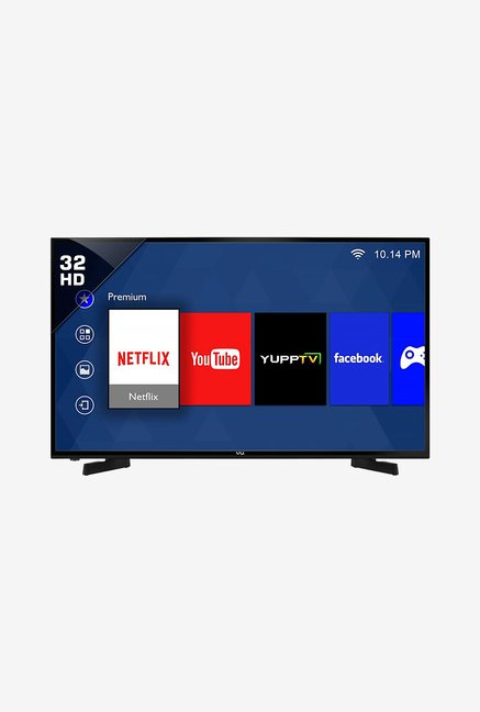Vu 32D6475 80cm 32 inches  HD Ready Smart LED TV  Black