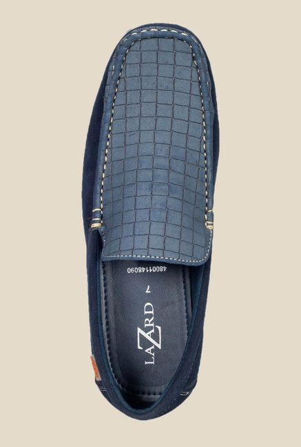 Khadim's Navy Casual Loafers