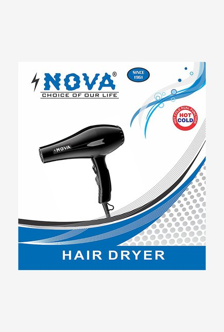Nova NHD-3 1800 Watt Hair Dryer (Black)