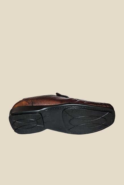 Khadim's Brown Casual Slip-Ons