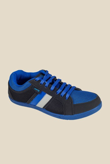 Khadim's Pro Blue & Black Running Shoes