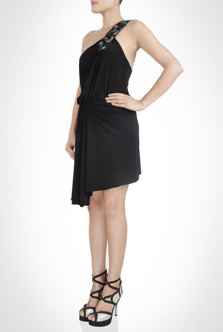 Surily Goel Designer Wear Black Dress by Kimaya