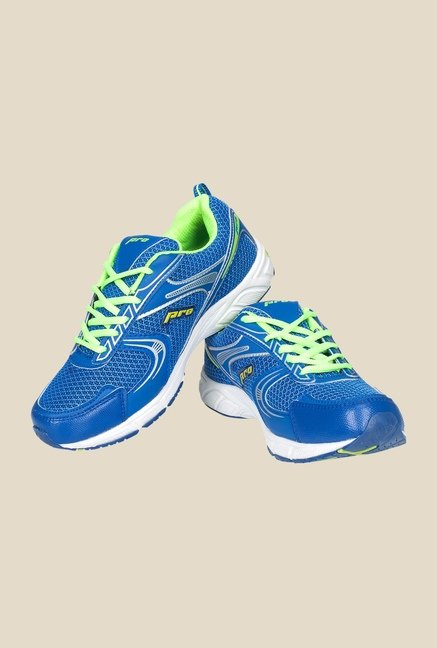 Khadim's Pro Blue Running Shoes