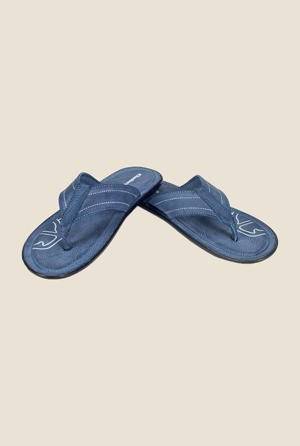 Khadim's Navy Thong Sandals