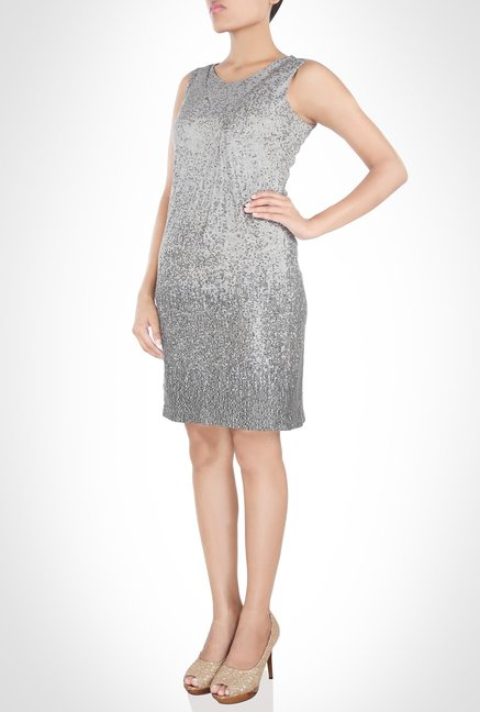 Rohit Gandhi And Rahul Khanna Designer Grey Dress by Kimaya
