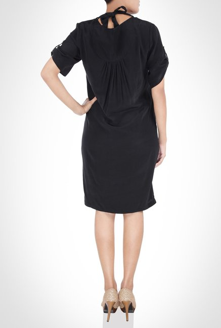 Rohit Gandhi And Rahul Khanna Designer Black Dress by Kimaya