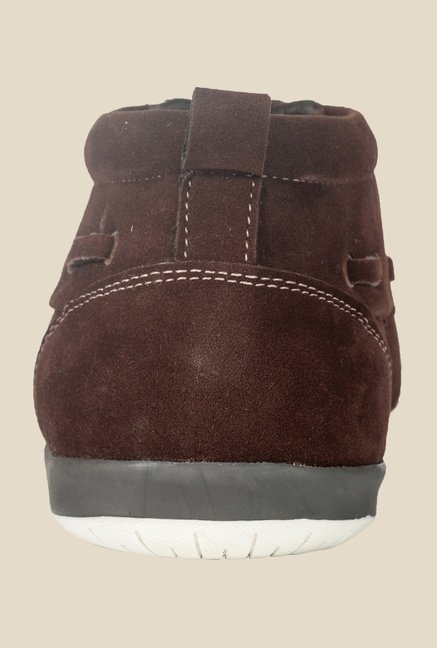 Khadim's Brown Casual Boots