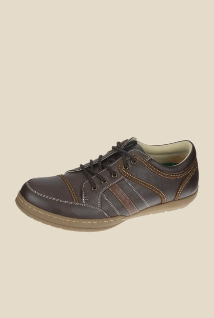 Khadim's Brown Casual Shoes