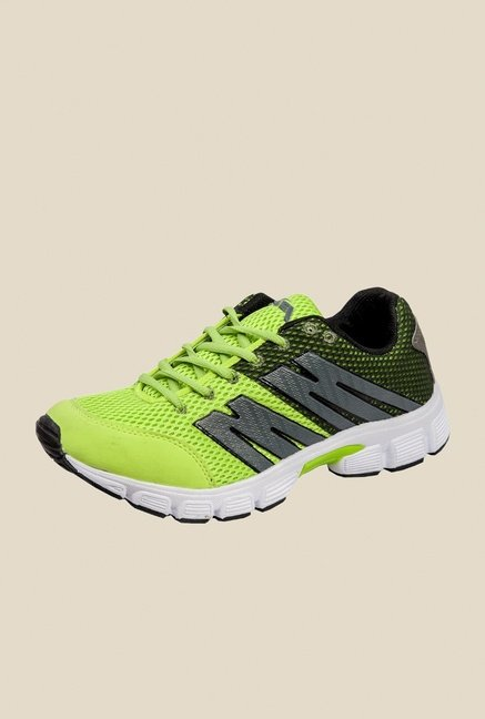 Khadim's Pro Green Running Shoes