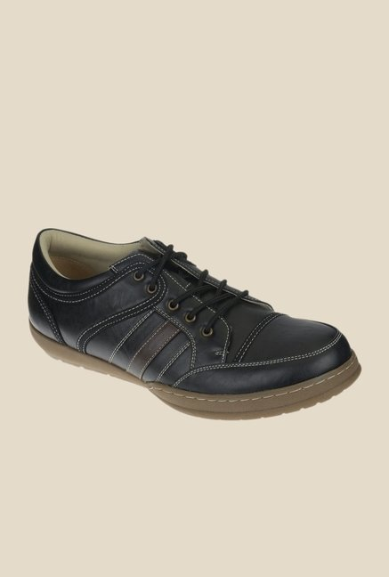 Khadim's Black Casual Shoes