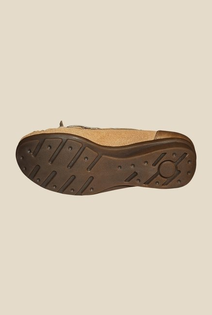 Khadim's Brown Boat Shoes