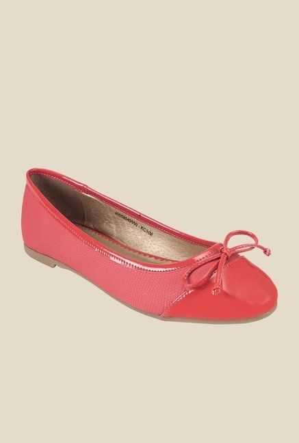 Khadim's Red Flat Ballets