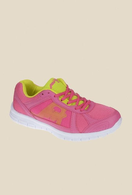 Khadim's Pro Pink Sports Shoes
