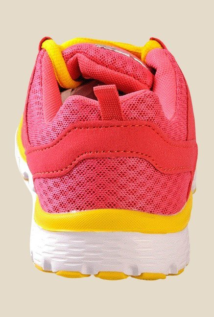 Khadim's Pro Pink & Red Sports Shoes