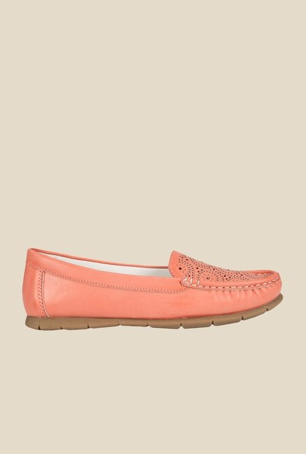 Khadim's Pink Casual Loafers