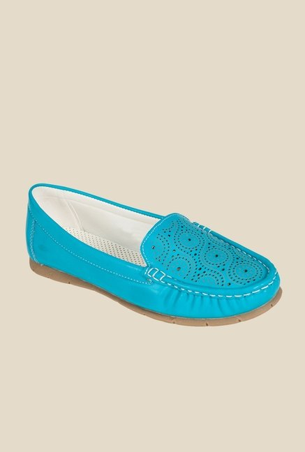 Khadim's Blue Casual Loafers