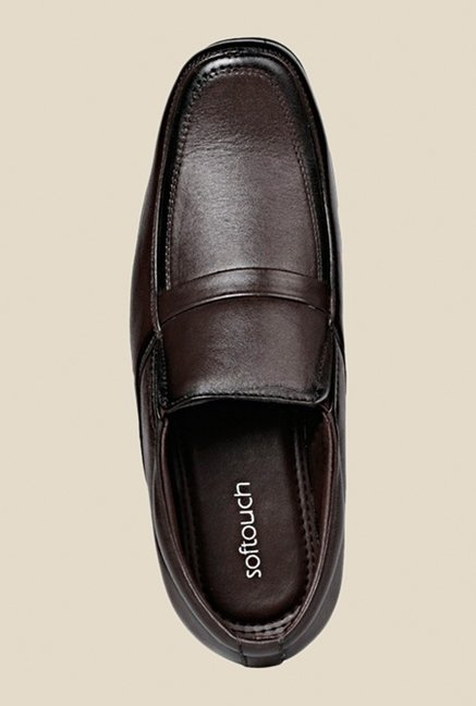 Khadim's Brown Formal Slip-Ons