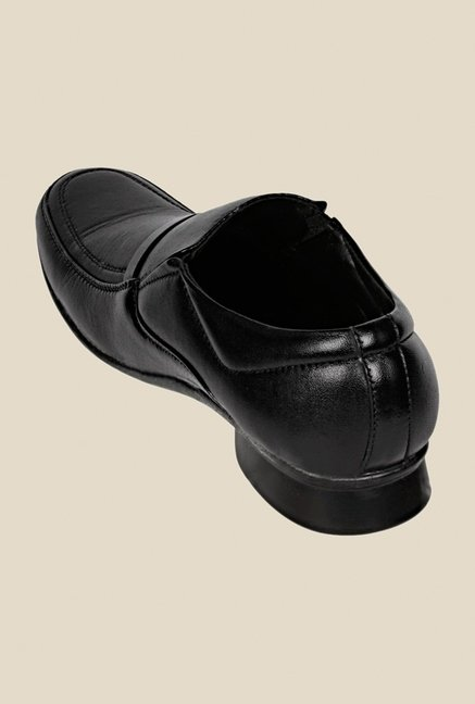 Khadim's Black Formal Slip-Ons