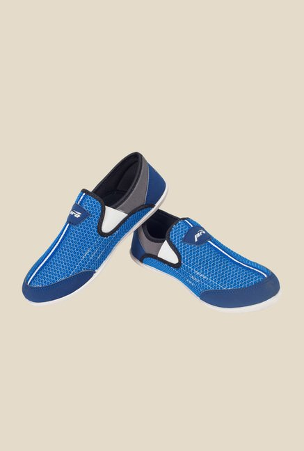 Khadim's Blue Outdoor Slip-Ons