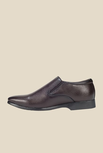 Khadim's Brown Monk Slip-Ons
