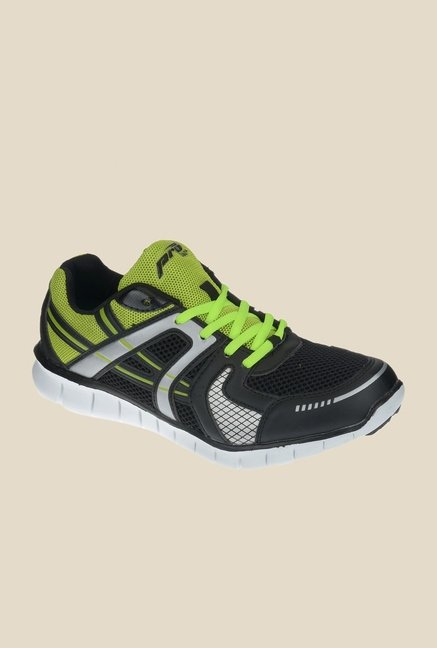 Khadim's Pro Green & Black Running Shoes