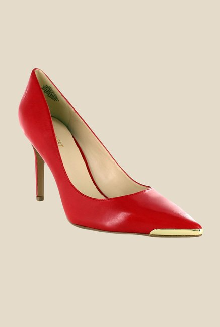Nine West Red Stiletto Heeled Pumps