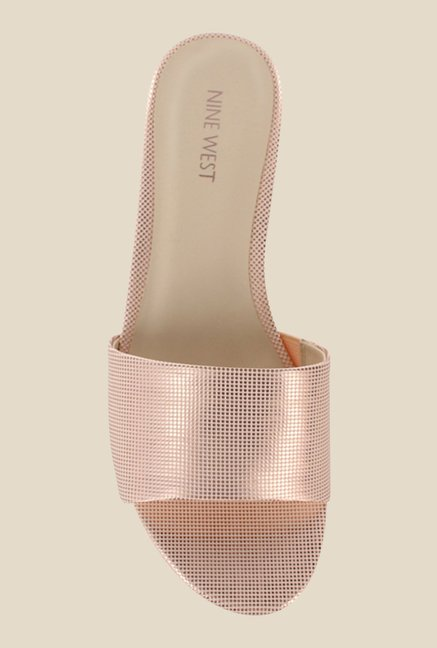 Nine West Pink Wedge Heeled Sandals